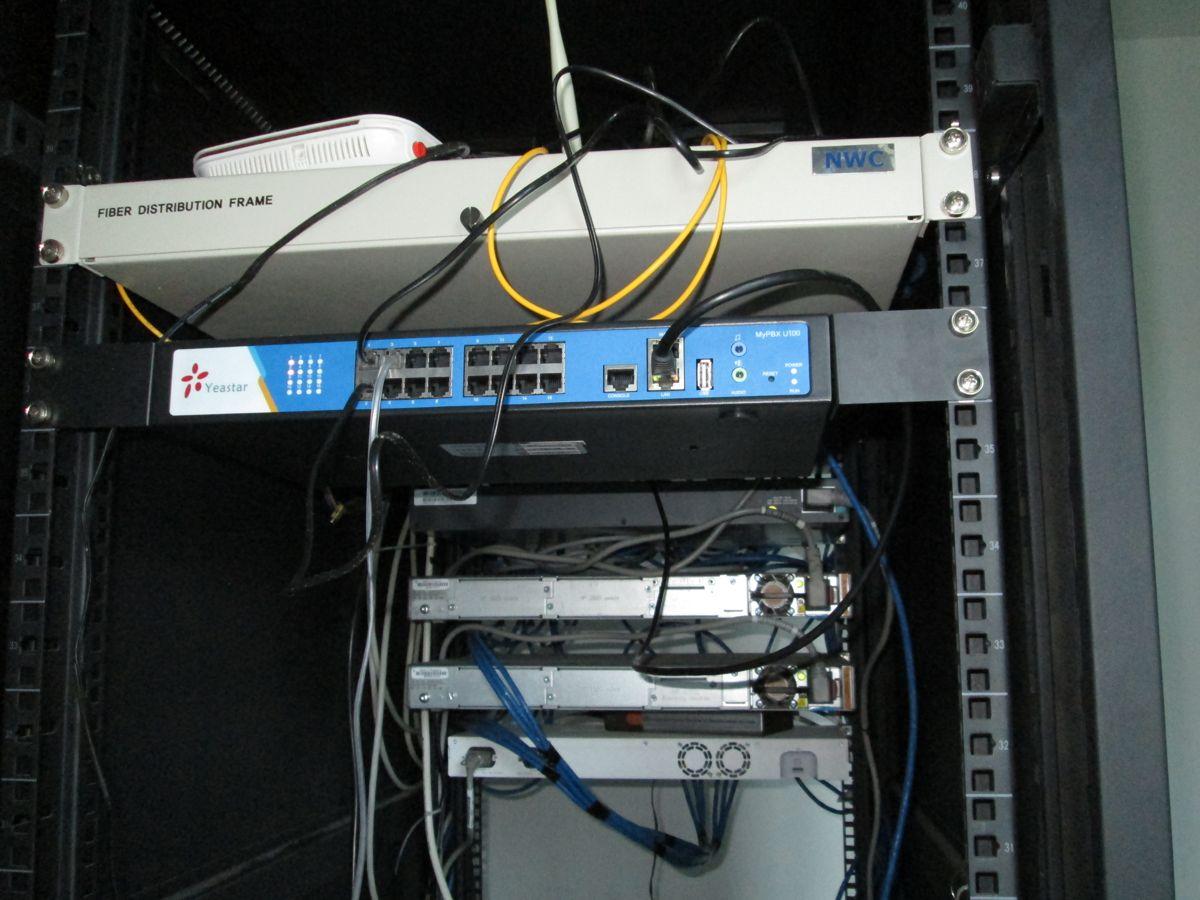 IP PBX, IP Telephone, dan Network